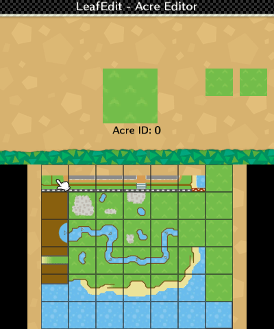 The map editor